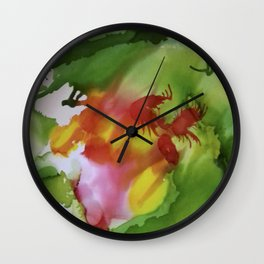 Evergreen 01 Wall Clock