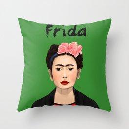 Frida Kahlo strange Throw Pillow