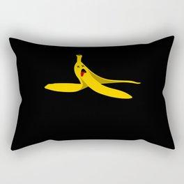 Banana Empty Banana Peel Sarcasm Rectangular Pillow