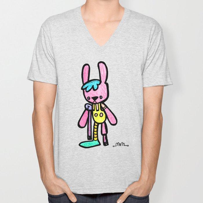 Bunny Crutch Unisex V-Neck