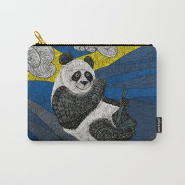 Panda on a Tree Carry-All Pouch