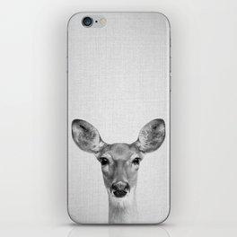 Doe - Black & White iPhone Skin