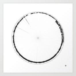 Sound of Earth - Van Allen Belt 1 Art Print