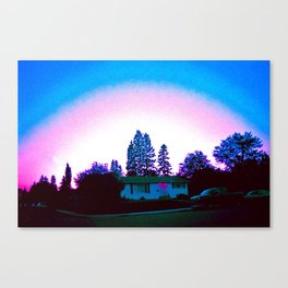 Summer Hood Canvas Print