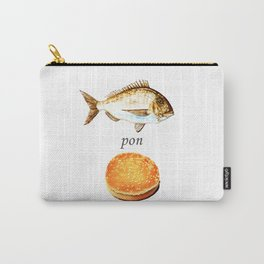 Fish Pon Bun Carry-All Pouch