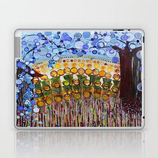 :: Indiana Blue Willow :: Laptop & iPad Skin