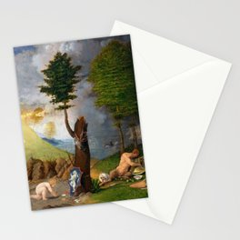 Lorenzo Lotto - Allegory of Virtue and Vice Stationery Cards