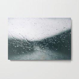 It's Raining. Metal Print