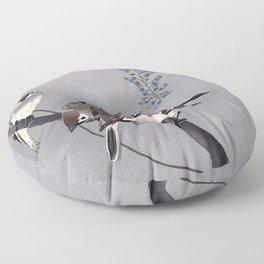 Wisteria Songbirds Floor Pillow