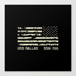 USS Dallas Canvas Print