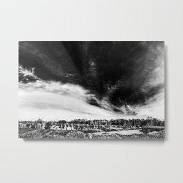 Apalachicola Oyster Mtn. Marina Metal Print