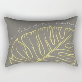 live laugh love Rectangular Pillow