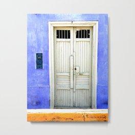 Pacasmayan Door 2 (Peru) Metal Print
