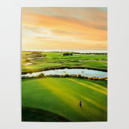 Golfing the Gong AE Poster