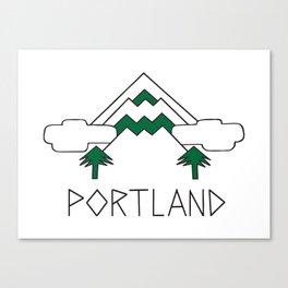 Mt Hood Portland by Seasons K Designs Canvas Print