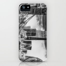 Tower Bridge And The City iPhone Case
