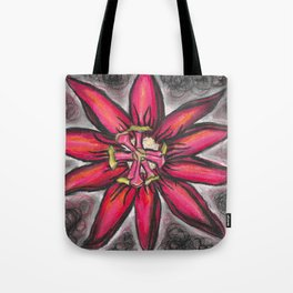 Tote Bag - Purple Flower Tote by VIDA VIDA