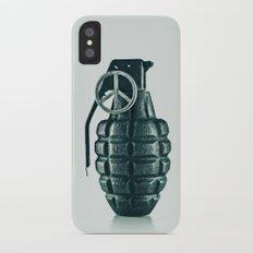 Hello Peace Slim Case iPhone X