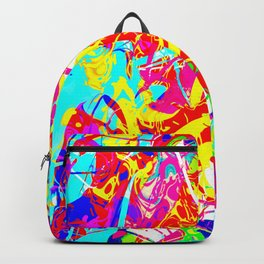 Digital Abstract #1 Backpack