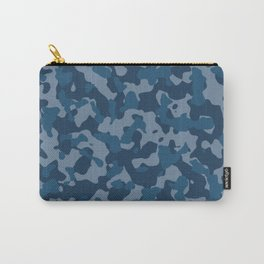 Camouflage Ocean Carry-All Pouch