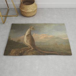 George Stubbs - The Kongouro from New Holland Rug
