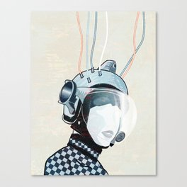 Space Lady 6 Canvas Print