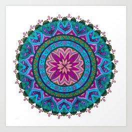 Meditation Mandala Art Print