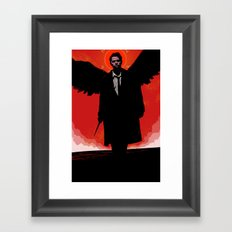 Castiel Framed Art Print