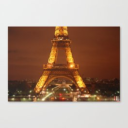 Glowing Tower Canvas Print
