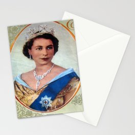 Queen Elizabeth 11 & Prince Philip in 1952 Stationery Cards