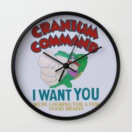 Cranium Command Recruitment Sign Wall Clock