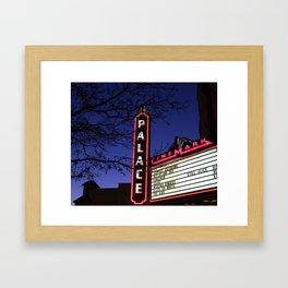 Plaza Theater Framed Art Print