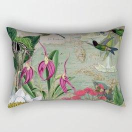 Enchanted Garden 3 Rectangular Pillow