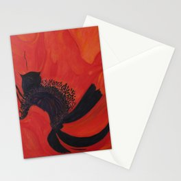 Dancing Poppy Stationery Cards