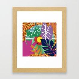 colorimetria botanica Framed Art Print