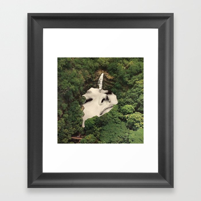 Nature in me Framed Art Print by mrbabies2 | Society6