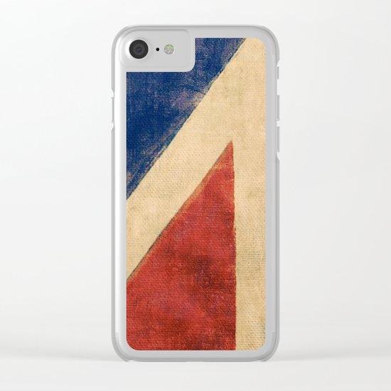 Sails Upwind Clear iPhone Case