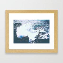 BREAKING POINT Framed Art Print