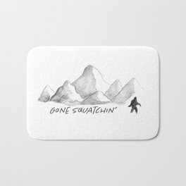 Gone Squatchin' Bath Mat