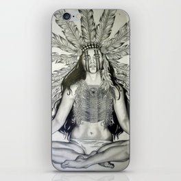Indian War chief  iPhone Skin