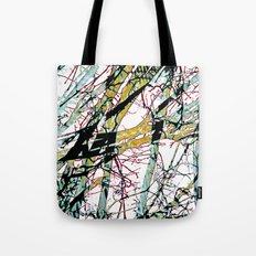 CRACKED CHINA Tote Bag