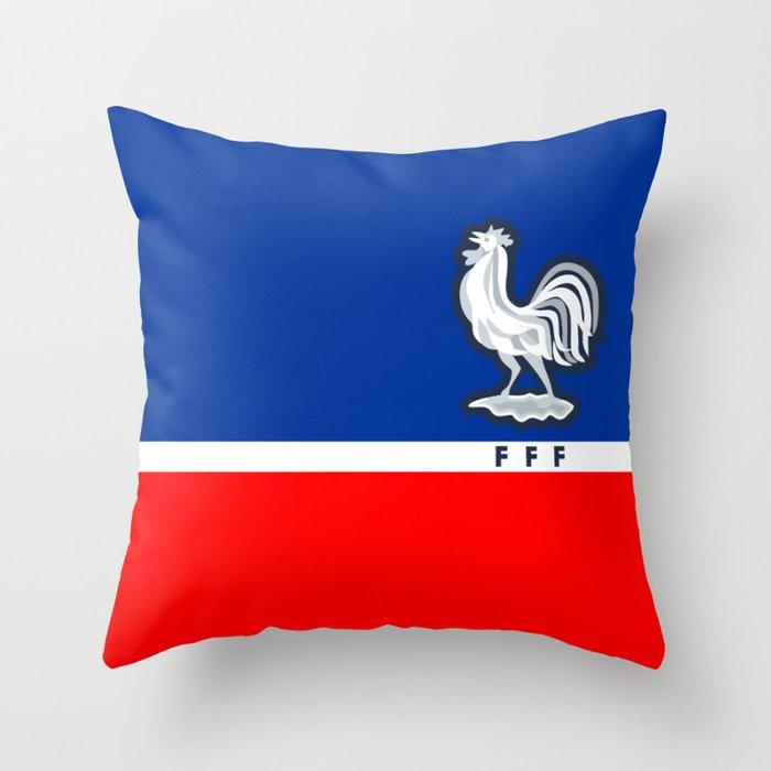 375b03df4 FRANCE Football Federation Throw Pillow by internationalsoccer ...