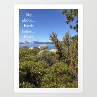 Nature - photo  Art Print