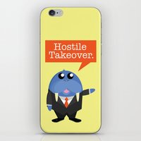 kevin russ iPhone & iPod Skins featuring Wall-Street-Russ by mrfelixding