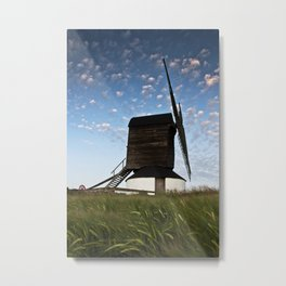 Sunset at the Windmill Metal Print