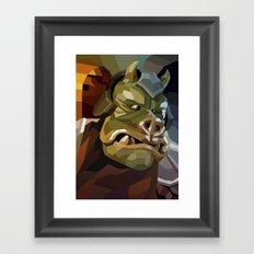 SW#12 Framed Art Print
