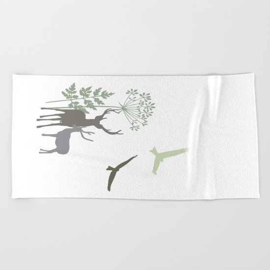 Harmony No. 1 Beach Towel
