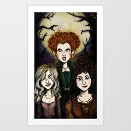 Sistahs! Art Print