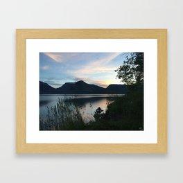 Tetons at Dawn Framed Art Print