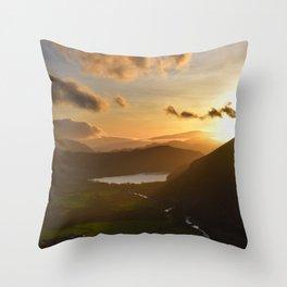 Snowdonia, Wales, UK. Throw Pillow